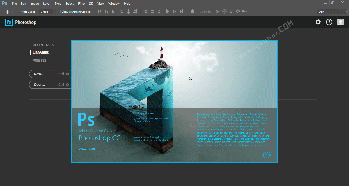 Free Download Adobe Photoshop CC 2015 Final Full Version