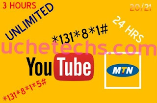 MTN YouTube Bundle Unlimited Browsing