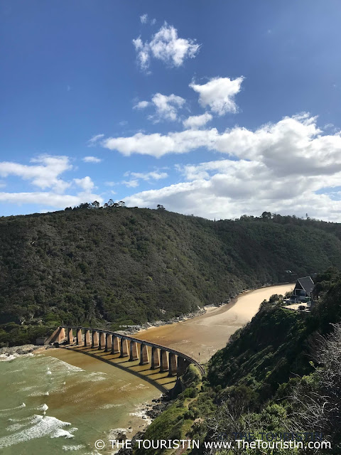 South Africa Kaaimans River rail bridge the touristin dorothee lefering
