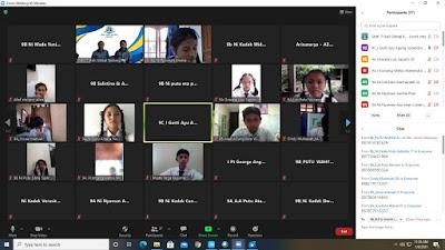 Sosialisasi Daring SMK TI Bali Global Badung Bersama Siswa-siswi Kelas IX SMP Negeri 3 Kuta Utara