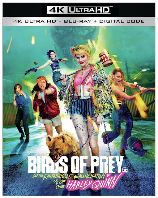 Birds of Prey (2020) 4k UHD Blu-ray cover