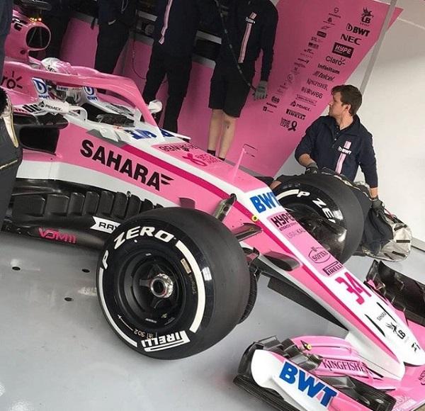 Force India VJM11 Fórmula 1 2018