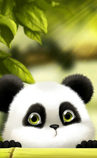 Gambar wallpaper panda keren iphone