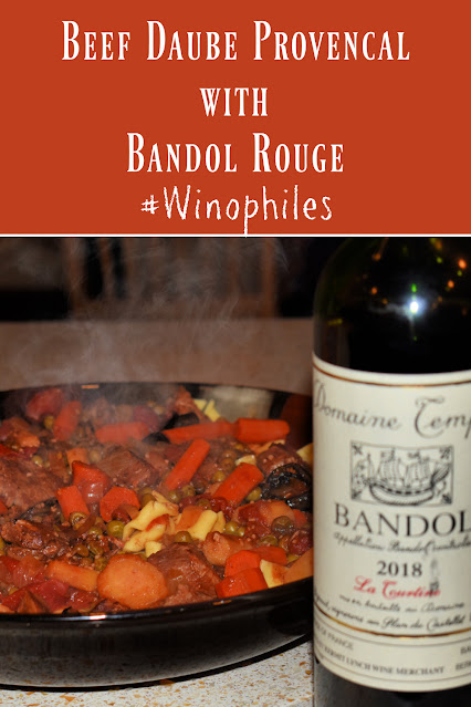 Beef Daube Provencal with a Bandol Rouge pin