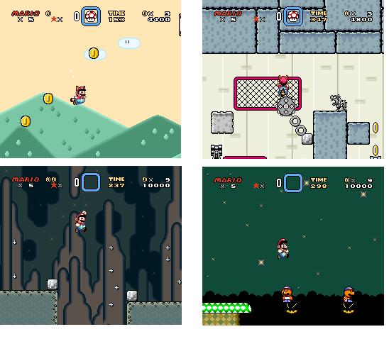 Super Mario World 3 El Hack ROM Innovador Super%2BMario%2BWorld%2B3%2Bv1.0%2Bcollage%2B2