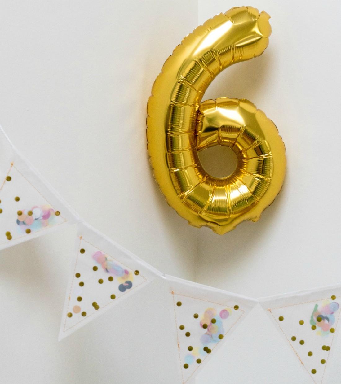 Kuusi vuotta, kuusivuotissyntymäpäivä