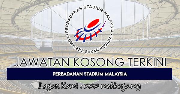Jawatan Kosong Terkini 2018 di Perbadanan Stadium Malaysia