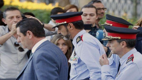 Jefe de la Policía catalana declara en Madrid por sedición