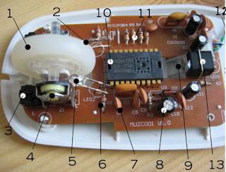 Fungsi dan Bagian-Bagian Pada Mouse Komputer