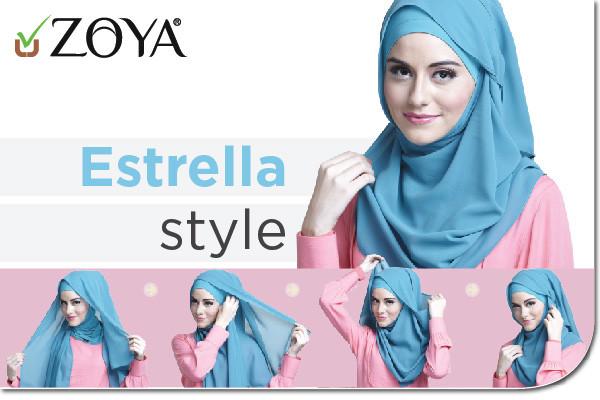 Gambar Gaya Hijab Pashmina