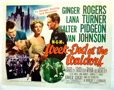"""Week-End at the Waldorf"" (1945)"