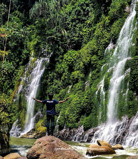 Mengeksplor Pesona Air Terjun Curug Maung Kota Palembang