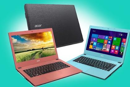 Rekomendasi 5 Laptop Acer Terbaru Tahun 2020