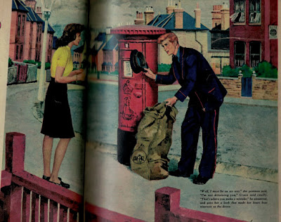 The Man with Red Hair, illustration in Today's Woman - W. Somerset Maugham