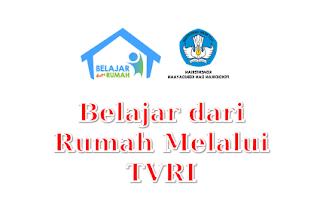 download program belajar dari rumah di TVRI