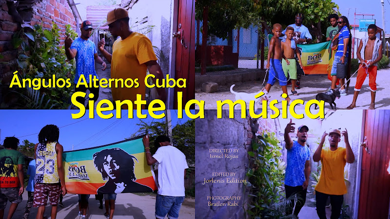 Ángulos Alternos Cuba - ¨Siente la música¨ - Videoclip - Director: Ismel Rojas. Portal Del Vídeo Clip Cubano. Música cubana. Hip Hop. Cuba.