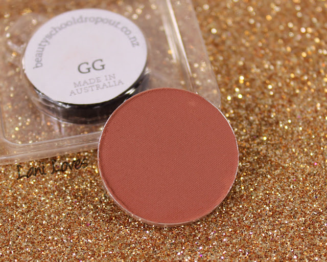 Beauty School Dropout Eyeshadow - GG Swatches & Review