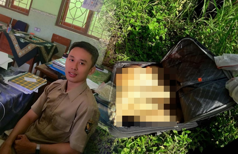 Terkuak Identitas Korban Penemuan Mayat Dalam Koper Tanpa Kepala di Blitar