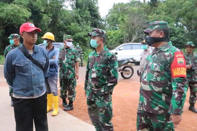 Kapendam I/BB : Melalui TMMD, TNI Hadir Untuk Penuhi Harapan Rakyat.