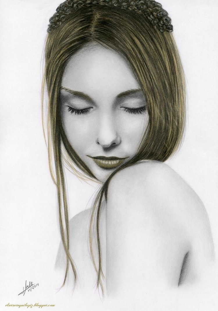 09-Gold-Reflections-Isabel-Morelli-iSaBeL-MR-Pencil-Black-Pastel-and-Charcoal-Portrait-Drawings-www-designstack-co