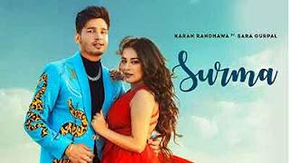 Surma Lyrics  Meaning/Translation in Hindi – Karan Randhawa