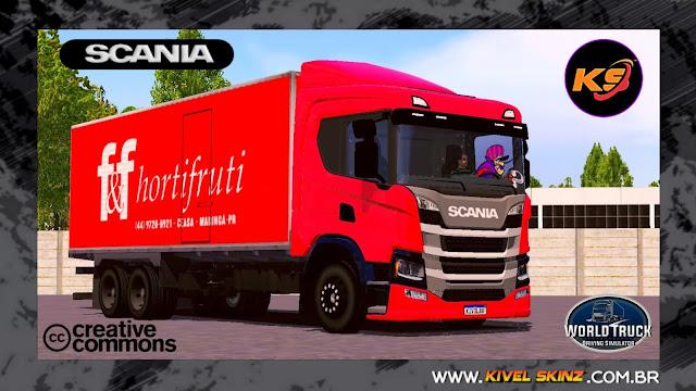 SCANIA P320 - F&F HORTIFRUTI