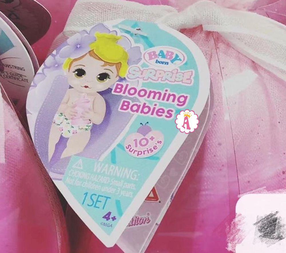 Беби Борн Сюрприз 3 серия пупсы в цветах Baby Born Surprise Blooming Babies