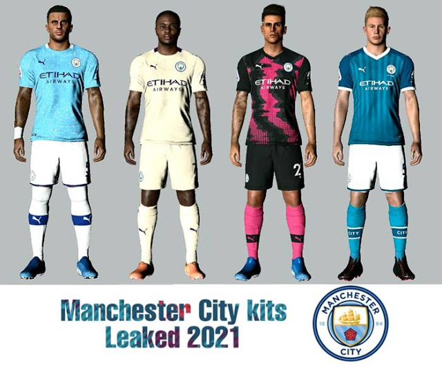 Pes 2017 Kits Manchester City Leaked 2020 2021