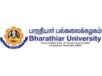 Bharathiar University Recruitment 2019 Guest Faculty Posts