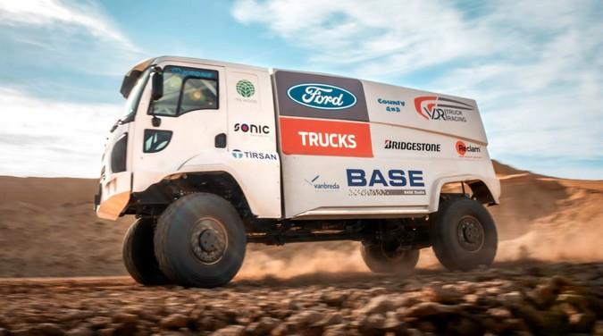 Ford participará do Rally Dakar 2019 com dois modelos Cargo de 710 cv