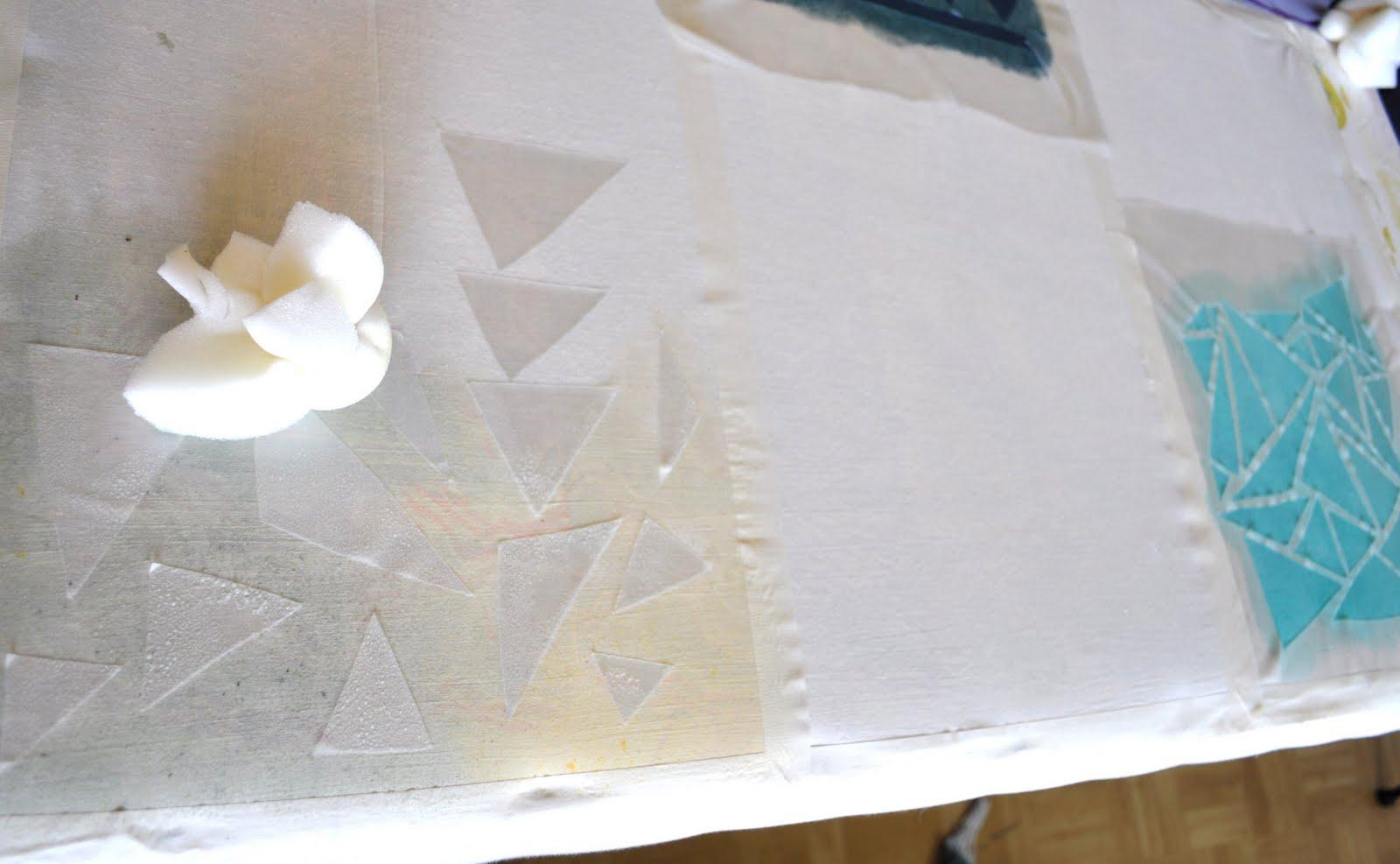 DIY : Print Your Own Fabric | Poppytalk