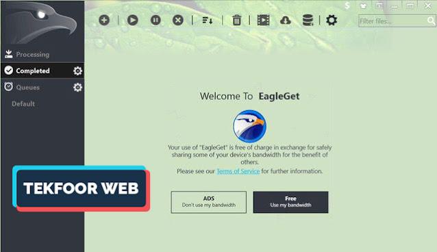 افضل 10 برامج التحميل للكمبيوتر و أسرعها لسنة 2021 EagleGet