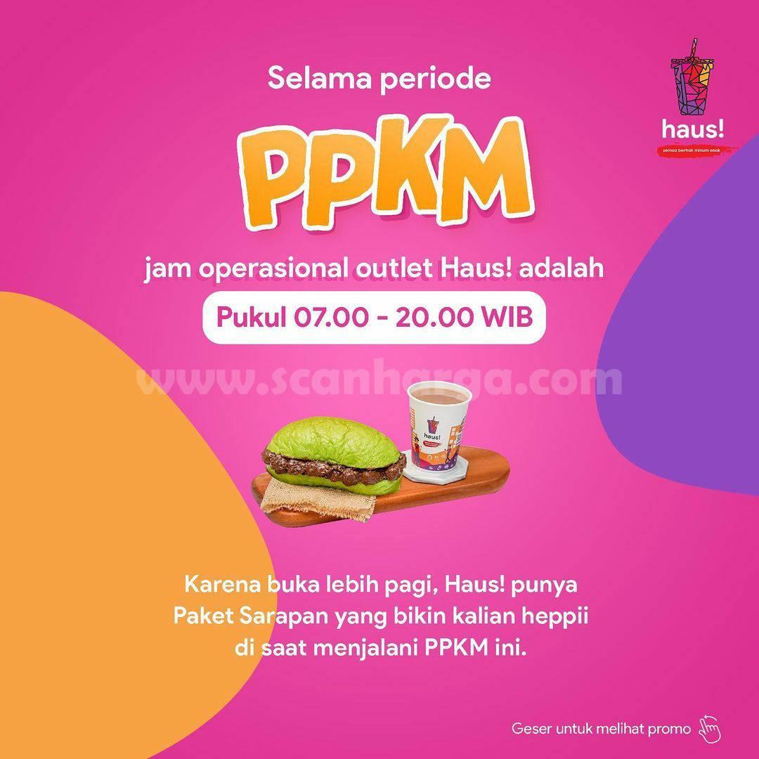 HAUS! Promo PPKM (Pesan Paket Kenyang dan Murah) 5