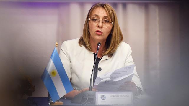 Renuncia la procuradora general de Argentina que el gobierno quería destituir