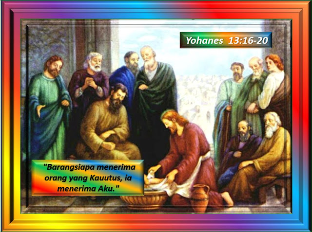 Yohanes 13:16-20