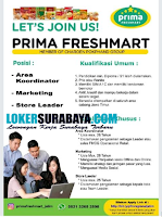 Open Recruitment at Prima Freshmart Juli 2020 Terbaru