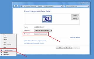 Windows 7, Screen resolution