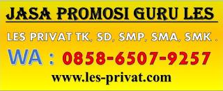 Jasa Promosi Guru Les Privat