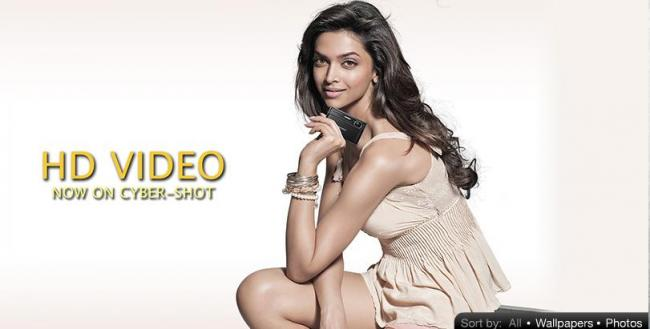 Deepika Padukone Hot Latest Photoshoot Stills For Sony