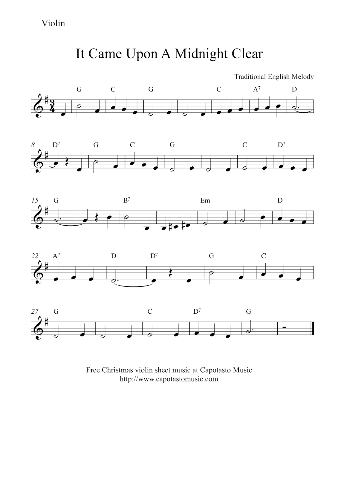 This is an image of Obsessed Printable Violin Sheet Music