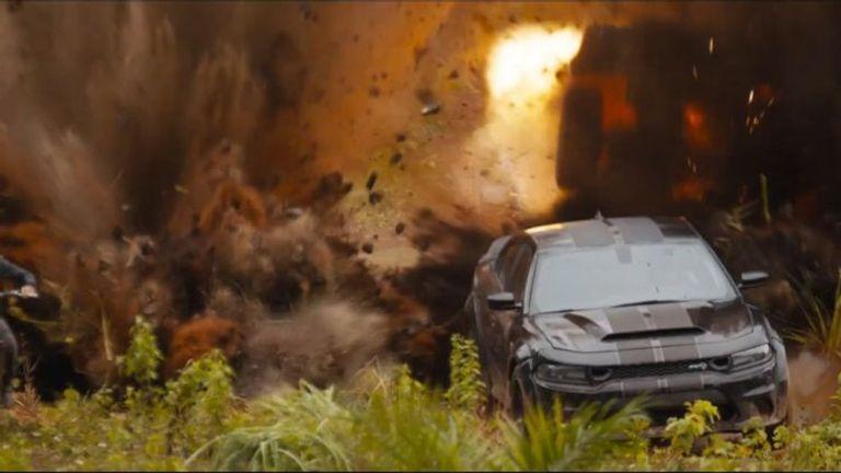 طراز Dodge Charger SRT Hellcat من ماركة دودج، موديل عام 2020