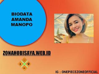 Biografi Amanda Manopo Lengkap