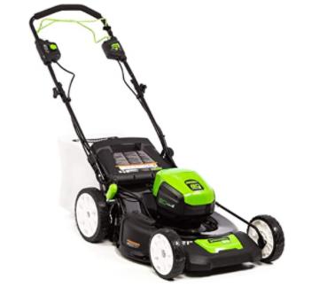 Greenworks 80 V PRO Self-Propelled Cordless Lawn Mower