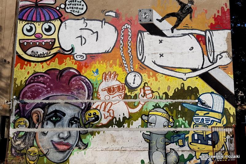 Warszawa Warsaw Grochów murale warszawskie mural streetart sztuka ulicy