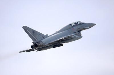 aeronautica esercitazione F35 eurofighter