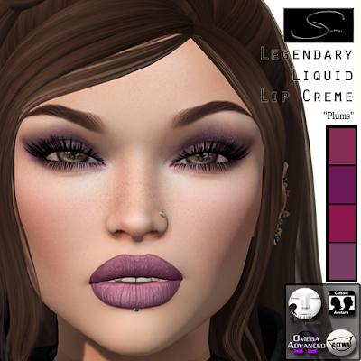 Two New Legendary Lip Creme Colors @ Stellar