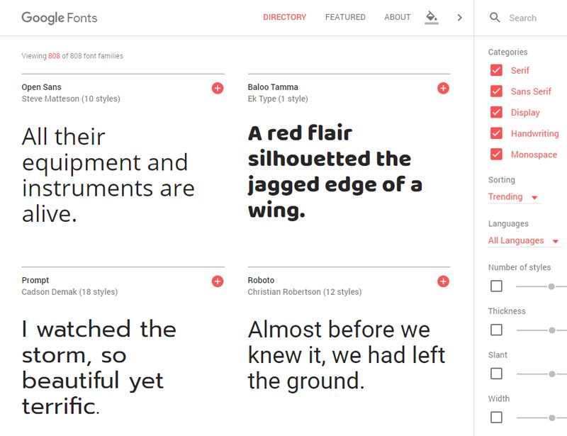 Utiliser des polices Google Fonts sur Blogger