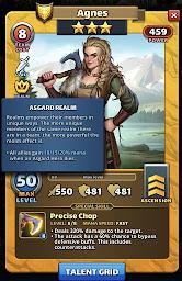 Agnes - Valhalla hero Asgard Realm