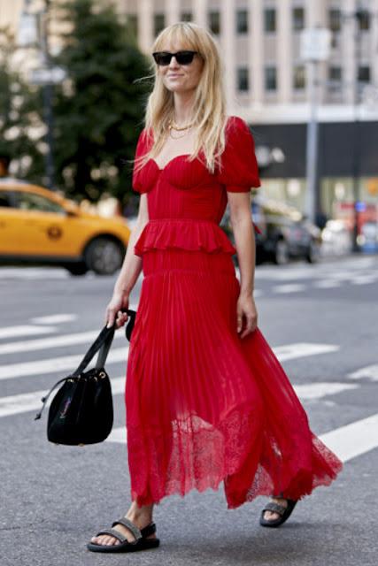 Модные образы яркой одежды 11