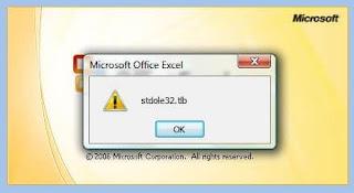 Office 07 Excel 每次開啟都出 Error